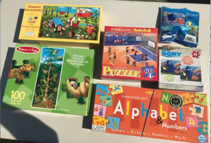 ASSORTED JIGSAW PUZZLES FOR TODDLERS/KIDS!!