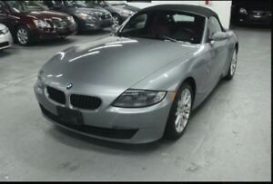 2006 bmw z4 convertible with 80,000 miles. solid car