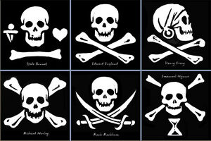 Stickers-6-Historical-Jolly-Rogers-collector-set