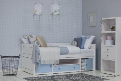 Lifetime kajuitbed wit gelakt kinderbed met opbergruimte for One of a kind beds