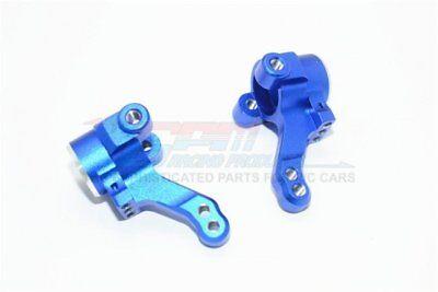 Knuckle Arm Set - GPM Racing Traxxas 4-Tec 2.0 Blue Aluminum Front Knuckle Arm Set GT021-B