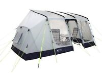 Caravan Awning with Bedroom Annexe