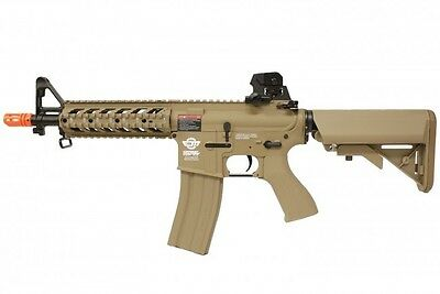 G&G CM16 Combat Machine Raider Short M4 RIS AEG Airsoft Gun - Tan for sale  Duarte