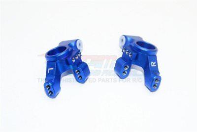 Knuckle Arm Set - GPM Racing Traxxas 4-Tec 2.0 Blue Aluminum Rear Knuckle Arm Set GT022-B