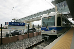 Monthly Parking at Century Park LRT Station