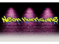 Glasgow rock band NEON HURRICANE seek bassist for gigging/recording and touring