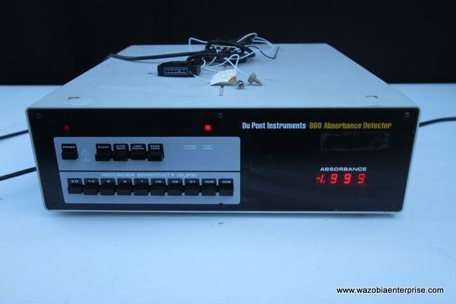 DU Pont 860 Absorbance Detector