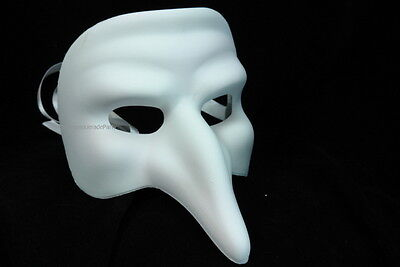 Black Swan Halloween (White Black Swan Doctor big Nose Masquerade mask DIY Halloween Xmas New Year)