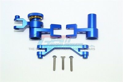 GPM Racing Traxxas UDR Blue Aluminum Steering Rack Assembly UDR048-B - Gpm Steering Assembly