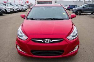 2014 Hyundai Accent GLS 4dr Hatchback Moose Jaw Regina Area image 4