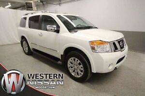 2015 Nissan Armada Seats 7 - Low KMs - Warranty -4x4 - DVD