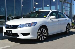 2015 Honda Accord Hybrid Certified | Premium Beige Leather Heate