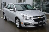 2015 Chevrolet Cruze CERTIFIED | SILVER ICE METALLIC | BLUETOOTH