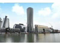 Amazing One Bedroom Arena Tower, e14, £450 per week, Available now!