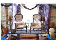 Wedding stage/backdrop African Nigerian Traditional Wedding Eru -Iyawo