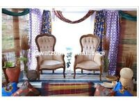 Wedding stage/backdrop African Nigerian Traditional Wedding Eru -Iyawo