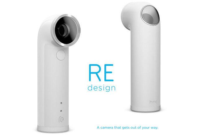 как выглядит Видеокамера NEW HTC RE 16.0MP 1080P Ultra-Wide Angle Lens Waterproof Digital Camera (White) фото