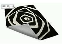 Arte Espina Optcal Art rug....