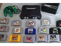 NINTENDO PLAYSTATION GAMEBOY GAMECUBE OLD CONSOLES AND GAMES WANTED