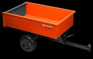 Husqvarna DC1000SW 12' Welded Steel Dump cart