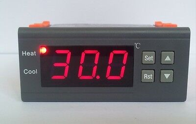30a Dc12v Digital Temperature Controller Thermostat Aquarium With Ntc Sensor