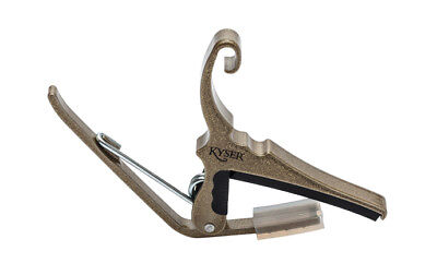 Kyser Quick Change Gold Capo for Acoustic Guitar - KG6G