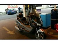 Piaggio x9 evolution 124cc 2007 good runner, good condition, low budget
