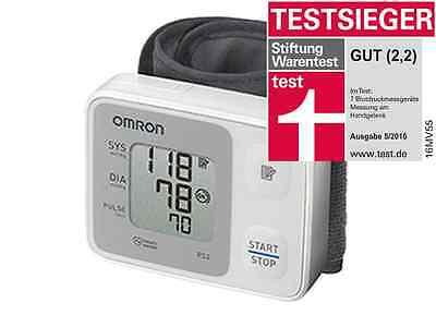 OMRON RS 2 -Testsieger Handgelenk-Blutdruckmessgerät - neu & OVP v. med. Fachhdl