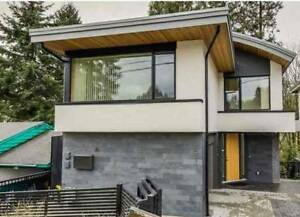 New architect built house in North vancouvet