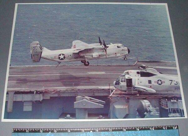 VRC-50 FOODOGS Grumman C-2 GREYHOUND 11 x 14 Official US NAVY Squadron Photo