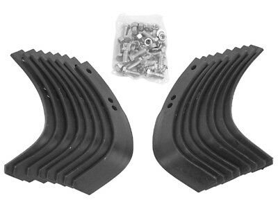 REPLACEMENT TROY-BILT TILLER TINES 16 PIECE TINE SET W/HARDWARE for HORSE / PONY