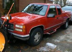 FOR SALE 1995 GMC Truck & Plow