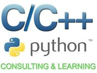 Programming in C++, C and Python. Applications for university and work.