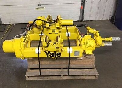 Yale Baw5x20rt7d4 Pneumatic Hoist 10000 Lb 5 Ton Capacity 7 Fpm Speed
