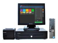 "Complete 17"" Dell Optiplex Retail/Hospitality EPOS POS Cash Register Till System"