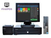 Complete Dell Optiplex Retail/Hospitality EPOS POS Cash Register Till System