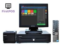 Complete Dell Optiplex Retail/Hospitality EPOS POS Cash Register Till System