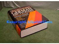 The Oxford-Duden German Dictionary: German-English/English-German Hardback Book