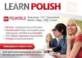 Polish Language Courses - Classes - Tuition in London