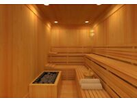 Help to use Sauna/Steam Room and Gym