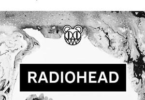 4 Radiohead Lower Level Tickets Section 115 Row K Monday July 16