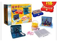 Board games, Lego, puzzles, etc for a special needs school