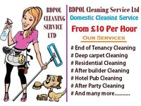 Professional Cleaner - From £10 per Hour - End of Tenancy Cleaning - Carpet Cleaning