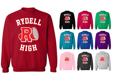 Rydell High School Logo Grease Costume Unisex Sweater Sweatshirt Jumper