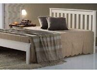 Double wooden bed - brand new