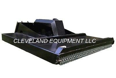 New 72 Rotary Brush Cutter Mower Attachment Skid Steer Track Loader 15-28gpm 6