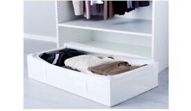 Ikea skubb under bed storage boxes x 2 £12 each