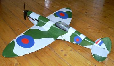schöne Spitfire Fun- Parkflyer, fliegt wie ein Shockflyer!