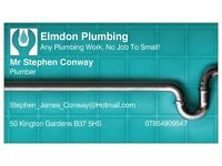 Plumber, Call For A Free Quote On 07854909547.