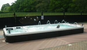 Hot tubs and Swim spas 50% off $1 down 1 year no payments.  if y Peterborough Peterborough Area image 4
